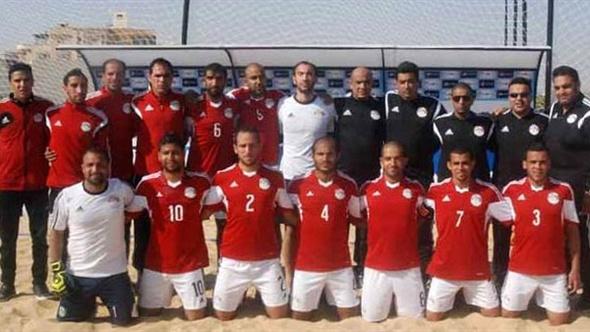 بعثة منتخب الشاطئية تتوجه إلى الإمارات للمشاركة فى كأس القارات