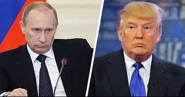 """""""بوتين"""" يناقش محاربة الإرهاب والتطرف مع """"ترامب"""" هاتفيا"""