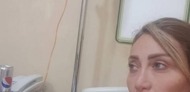 ريهام سعيد تصاب بوعكة صحية بعد يوم من زيارتها لشريف مدكور