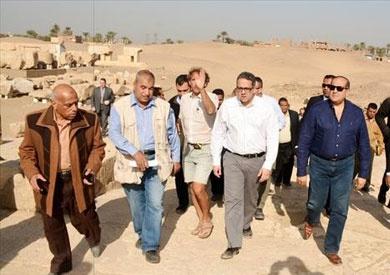الآثار: العثور على جبانة ومدينة سكنية تعود لعصر بداية الأسرات بسوهاج