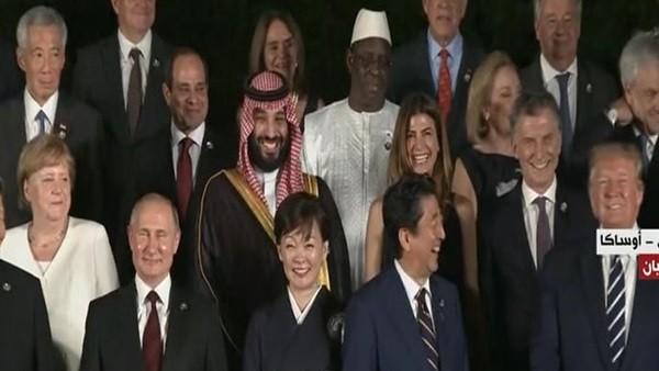 في لقطة طريفة.. قادة قمة العشرين يدخلون في نوبة ضحك بسبب كلمات ترامب.. فيديو