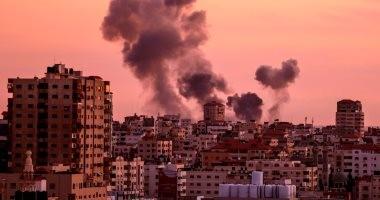 جيش الاحتلال الإسرائيلى يشن غارات على قطاع غزة