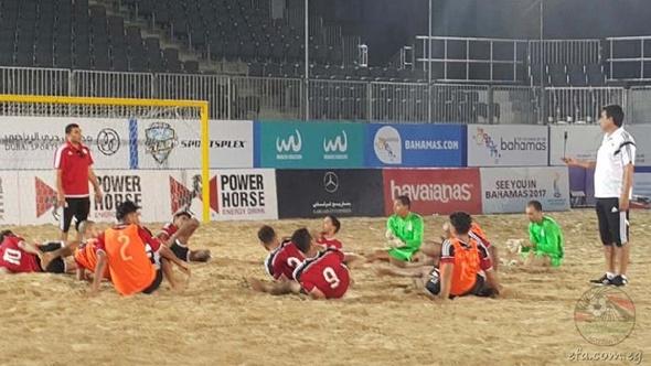 اتحاد الكرة يؤكد استعداد منتخب الشاطئية لمواجهة روسيا بافتتاح كأس القارات