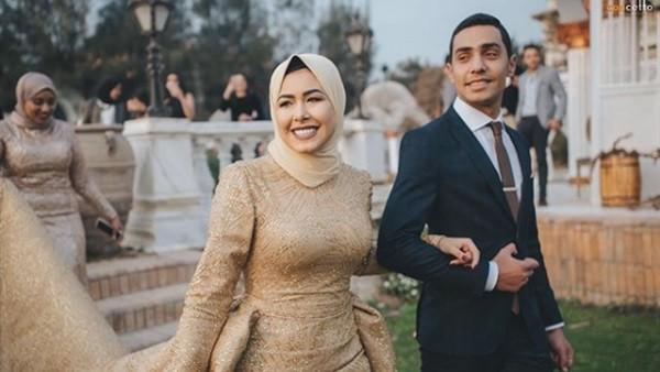 فستان زفاف مروة حسن يشعل الانستجرام.. صور
