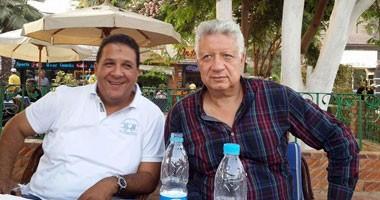 مجلس الزمالك يحضر عشاء مرتضى منصور مع الجهاز الفنى واللاعبين قبل القمة
