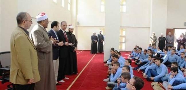 وكيل الأزهر يتفقد معهد شعبة العلوم الإسلامية قبل بدء الدراسة