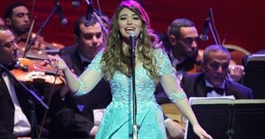 إذاعة الأغانى تنقل حفل غادة رجب بمهرجان الموسيقى العربية الليلة