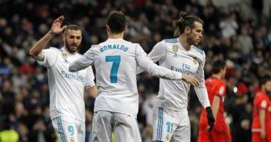 ريال مدريد المنتشى ضيفا على إيبار بالدورى الإسبانى