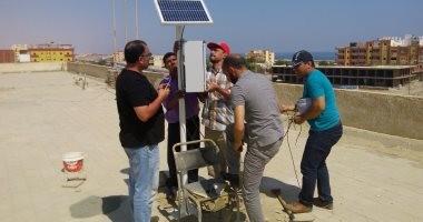 أجهزة رصد حديثة بالطاقة الشمسية لقياس معدلات الأمطار بالمحافظات المعنية