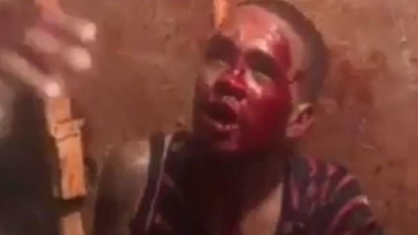 لقطات صادمة.. لحظة الفتك بـ قاتل أطلق النار على نجم شهير داخل بار
