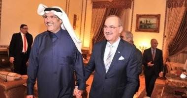 سفير السعودية بمصر يقيم حفل عشاء لنظيره العراقى بمناسبة انتهاء فترة عمله