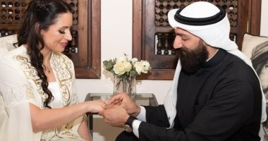 لقاء العمالقة.. أول مصارع كويتى وأول مصارعة أردنية يعلنان خطبتهما