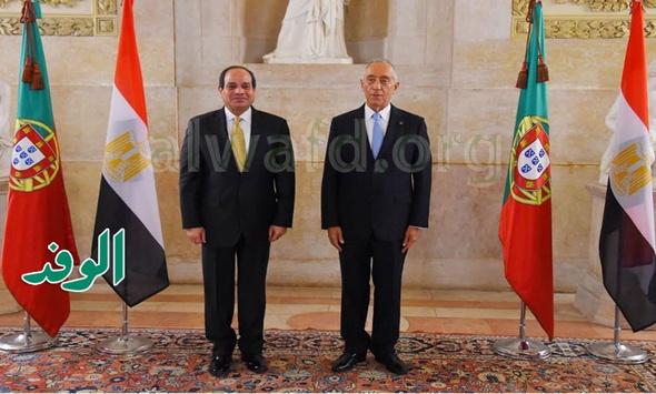 بالصور.. السيسى يدعو رئيس البرتغال لزيارة مصر في أقرب وقت