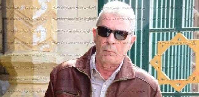 """بالصور  """"حميدة"""" و """"الفيشاوى"""" وأشرف زكي في جنازة محمد متولي"""