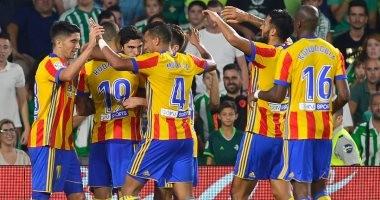 شاهد.. 9 أهداف فى مباراة مجنونة بين فالنسيا وبيتيس بالدوري الإسباني