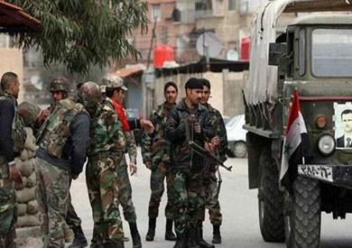 قوات الأسد تحكم سيطرتها على مدينة السخنة فى حمص