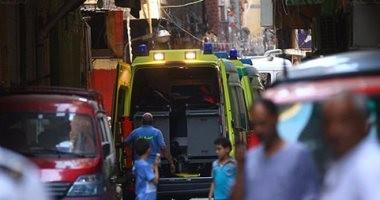إصابة 8 أشخاص فى حادث تصادم بالشرقية