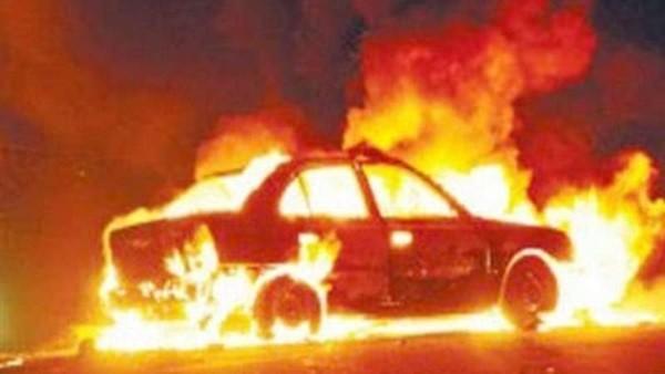 سائق توك توك يشعل النار في مدرس بالإسكندرية