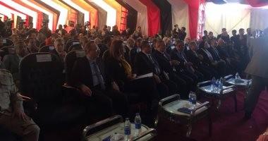 انطلاق المؤتمر الإقليمى الأول للشباب بالفيوم بحضور وزيرة و3 محافظين