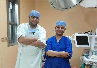 نجاح جراحة تجميل لطفلة تعرضت لحروق بمستشفى طور سيناء العام