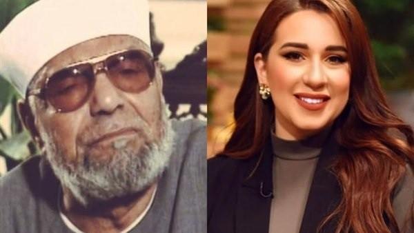 بتكلم من غير حساب.. أسما شريف منير تعتذر بعد وصف الشعراوي بـ المتطرف