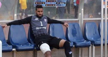 أحمد الشناوى يعود لحراسة مرمى الزمالك بعد 34 يوما
