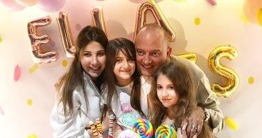 """نانسى عجرم تحتفل بعيد ميلاد نجلتها """"إيلا"""".. فيديو وصور"""
