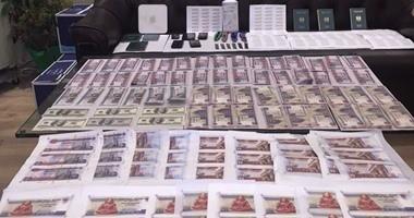 ضبط عاطلين بحوزتهما نقود مزورة وكمية من مخدر الاستروكس بمترو كلية الزراعة