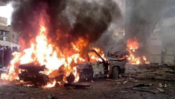 أثناء تشييع جثمان ضابط سابق.. انفجار سيارة مفخخة يستهدف قادة في الجيش الليبي