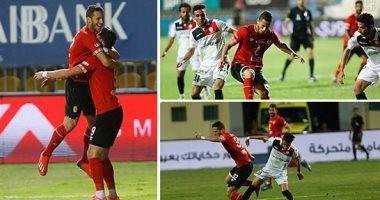 فيديو .. الأهلي يفوز على النجوم 2 / 0 و يتصدر الدوري بعد تعادل بيراميدز