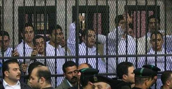 """تأجيل إعادة محاكمة 136 متهما في أحداث """"مجلس الوزراء"""" إلى 24 ديسمبر المقبل"""