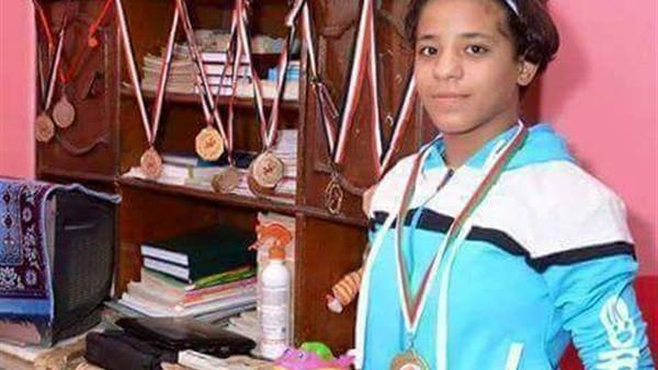 السجن 7 سنوات لوالد بطلة المصارعة ريم مجدي