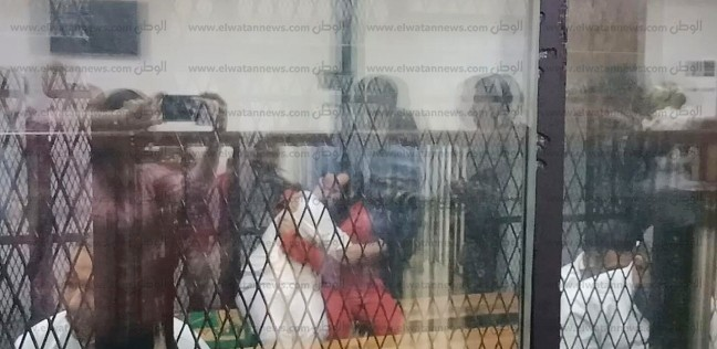 بالأحضان.. مهاجم كنيسة حلوان يحتفل بحكم إعدامه