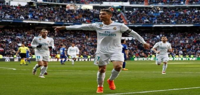 الدوري الإسباني.. ريال مدريد 3-1 خيتافي.. ثنائية لرونالدو