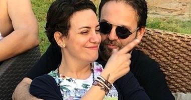 رومانسية ريهام عبد الغفور مع زوجها بدون مكياج × صورة