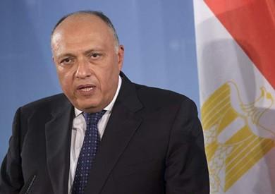 وزير الخارجية يعود للقاهرة بعد مشاركته فى اجتماعات إصلاح المفوضية الإفريقية