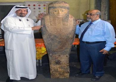 «الآثار»: نعمل على إعادة «التابوت الفرعوني» من الكويت لفحص أثريته