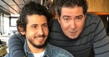 """محمد بركات لـ أحمد حجازى """"عايزك تظبطنى"""".. فيديو"""