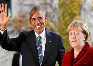 أوباما: ميركل تمثل «مصداقية كبيرة» وعلى الألمان أن يقدروها