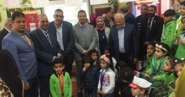 يوم انتخابى لأطفال رياض الأطفال ببورسعيد كمحاكاة للانتخابات