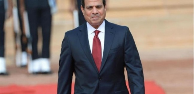 السيسي يتفقد محور روض الفرج فجر اليوم