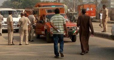 بالصور ..حملات للتأكد من تطبيق تعريفة الأجرة الجديدة فى بنى سويف