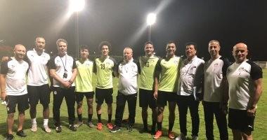 صور.. رمضان يشارك في مران المنتخب الأولمبي واستبعاد 4 لاعبين