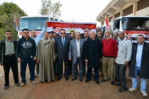 وزير التموين: تسيير قافلة ضخمة من السلع الغذائية الأساسية لأهالي شمال سيناء