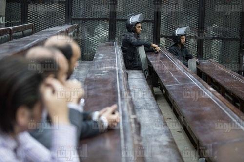 بدء محاكمة 19 متهما بالتظاهر في 11 نوفمبر وسط تشديدات أمنية