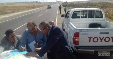 بالصور.. محافظ البحر الأحمر يتفقد مخرات السيول ومستشفى القصير