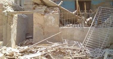 مصرع سيدة و3 من أبنائها فى انهيار عقار من 3 طوابق بالشرابية