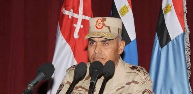 """صبحي وحجازي يلتقيان رئيس اللجنة العسكرية بـ""""الاتحاد الأوروبي"""""""