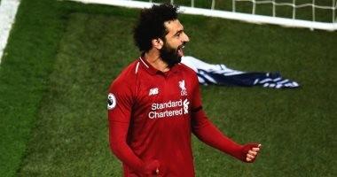 """محمد صلاح يتصدر قائمة """"سكاى"""" لأفضل لاعبى الدوري الانجليزي"""