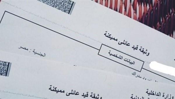 خدمات إلكترونية.. استخرج القيد العائلي من موبايلك في دقائق